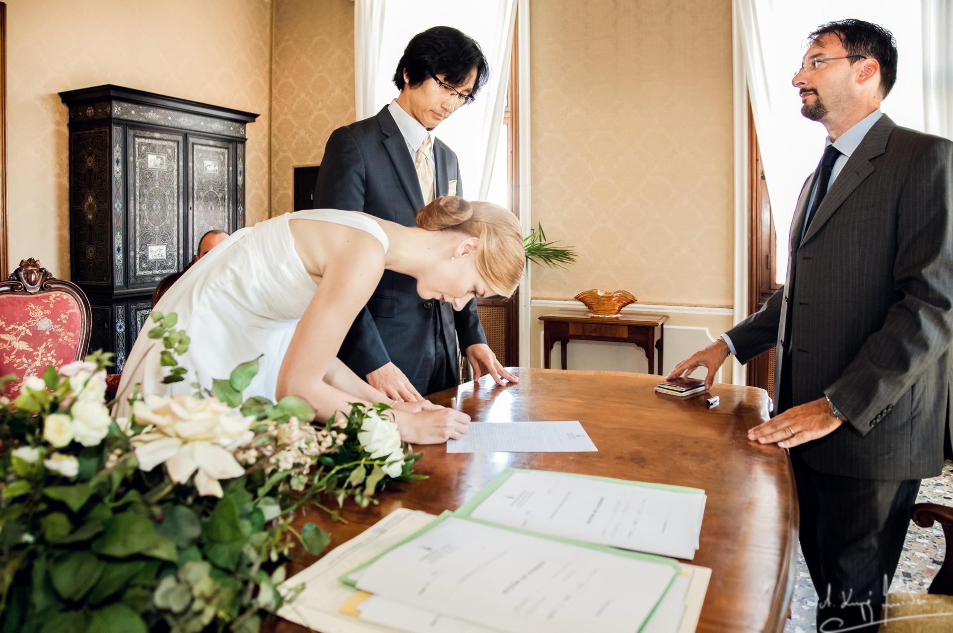 Ślub w wenecji 25 Manuela Luiza & Young Seon Song
