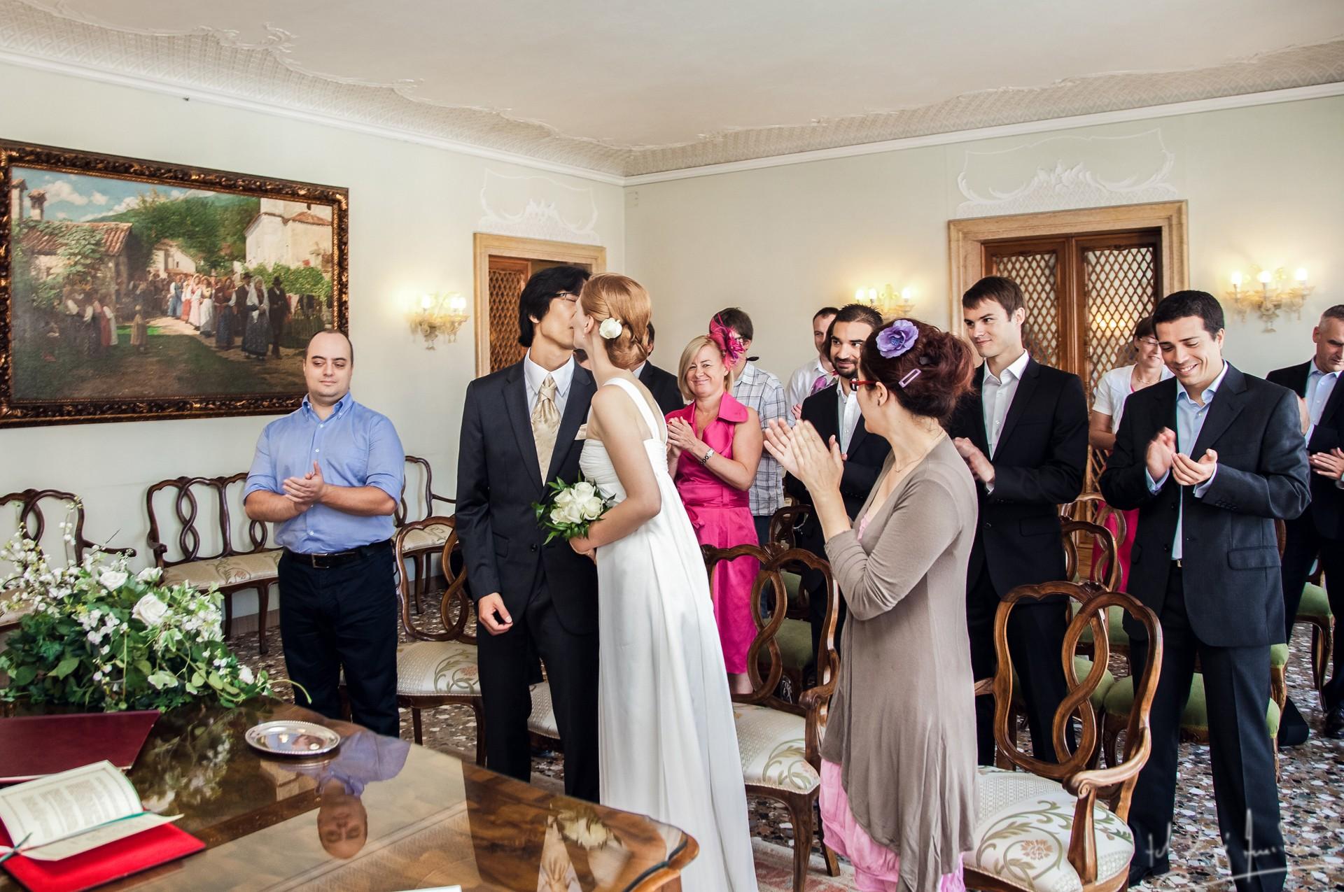Ślub w wenecji 31 Manuela Luiza & Young Seon Song