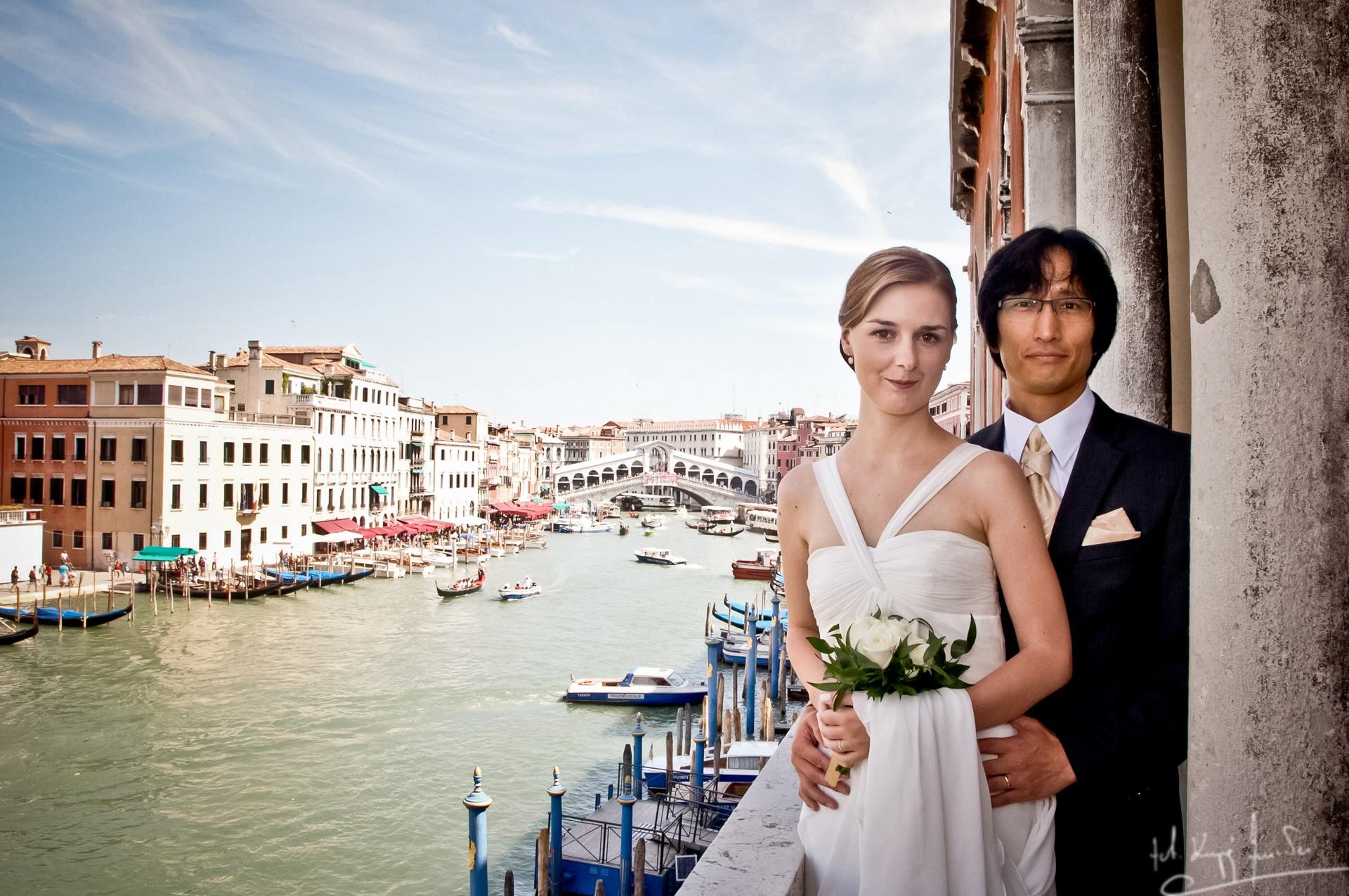 Ślub w wenecji 36 Manuela Luiza & Young Seon Song