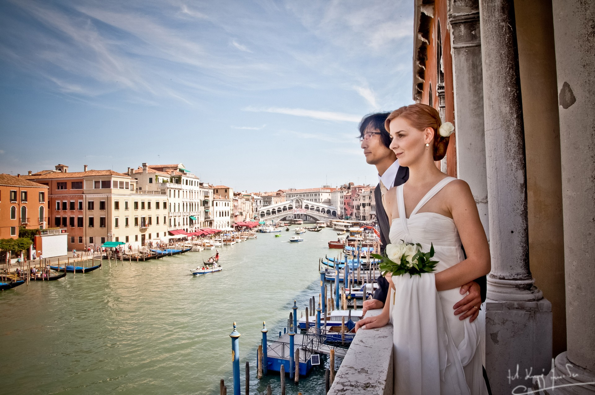 Ślub w wenecji 37 Manuela Luiza & Young Seon Song
