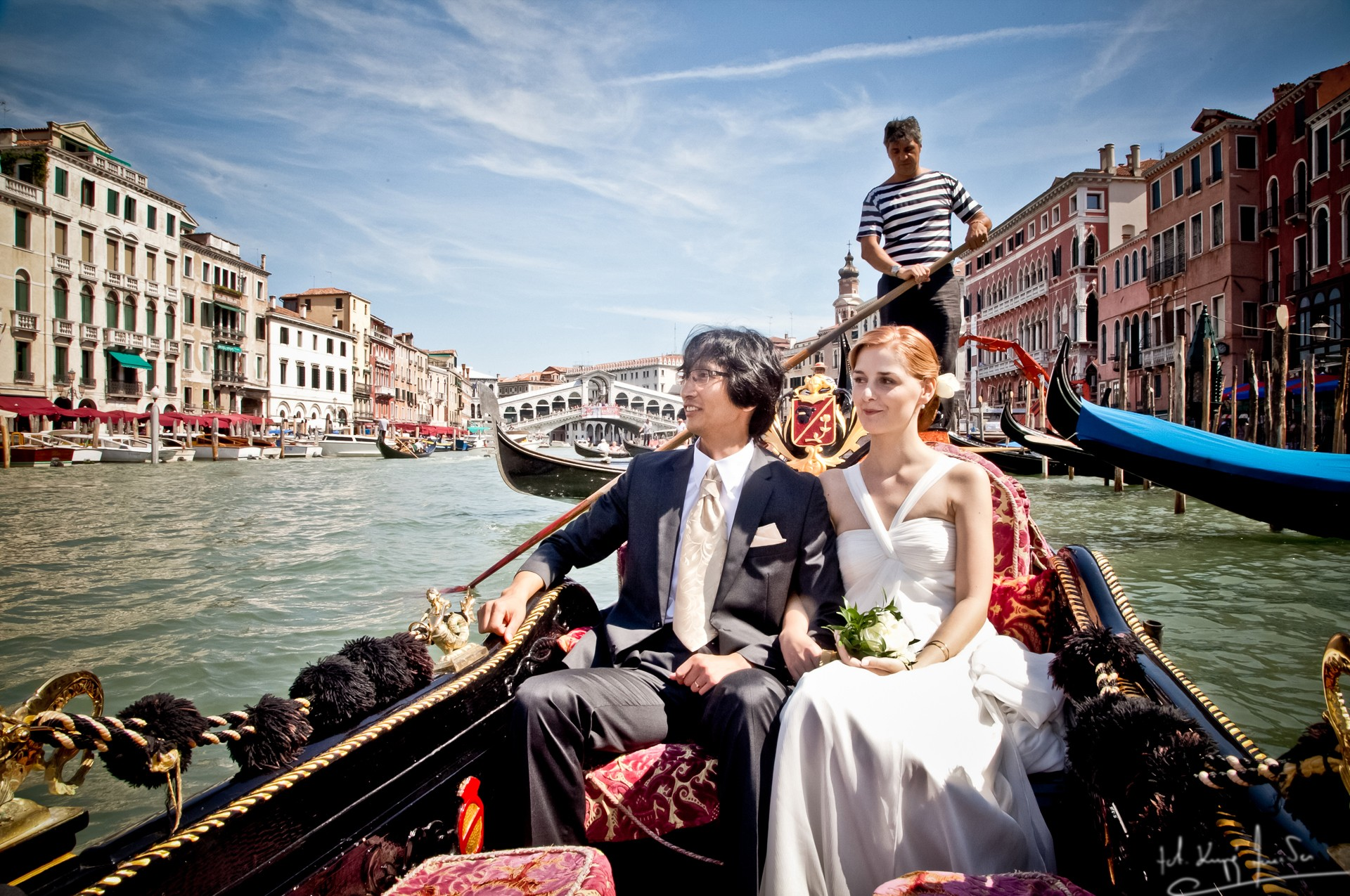 Ślub w wenecji 40 Manuela Luiza & Young Seon Song