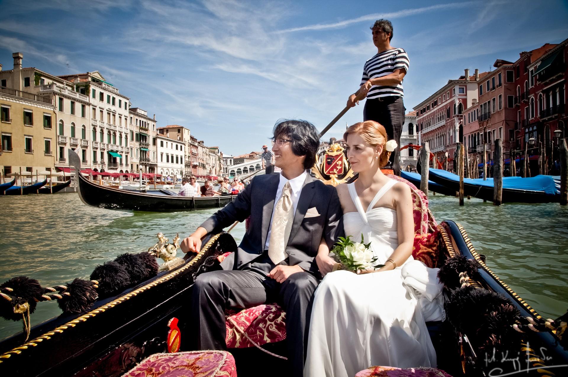 Ślub w wenecji 41 Manuela Luiza & Young Seon Song