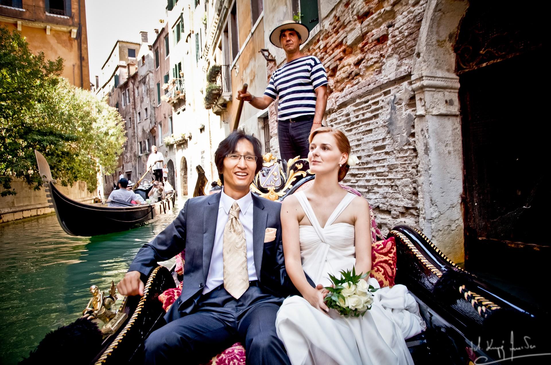 Ślub w wenecji 46 Manuela Luiza & Young Seon Song