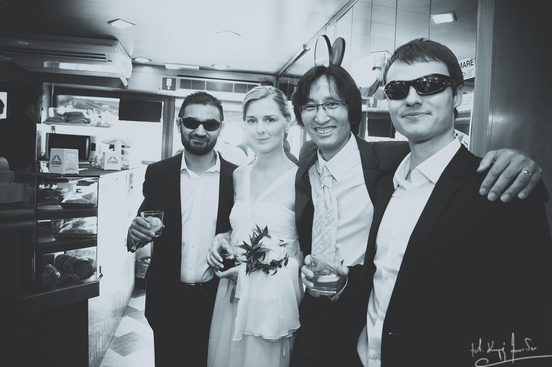 Ślub w wenecji 51 Manuela Luiza & Young Seon Song