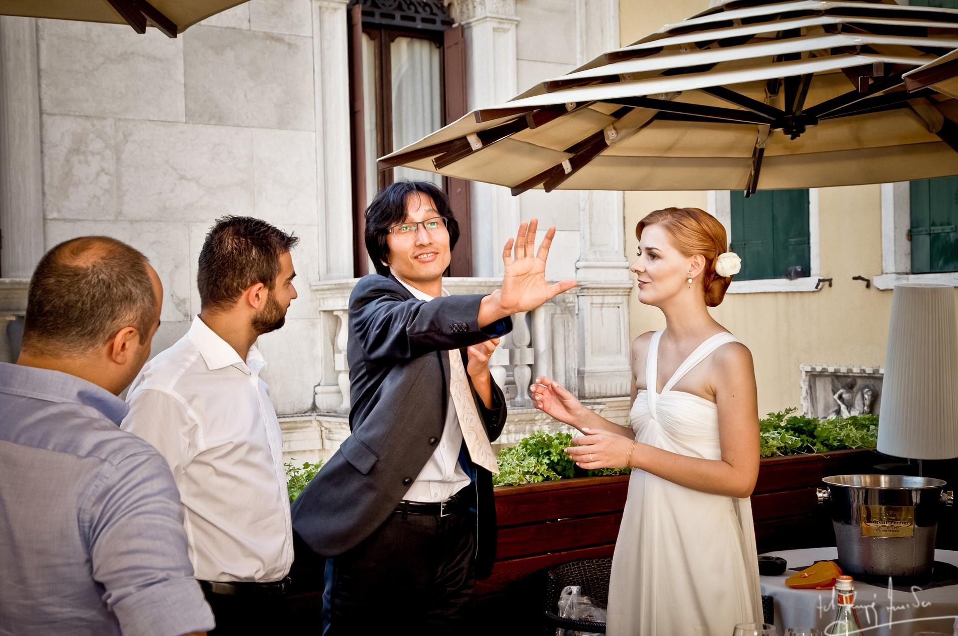 Ślub w wenecji 67 Manuela Luiza & Young Seon Song