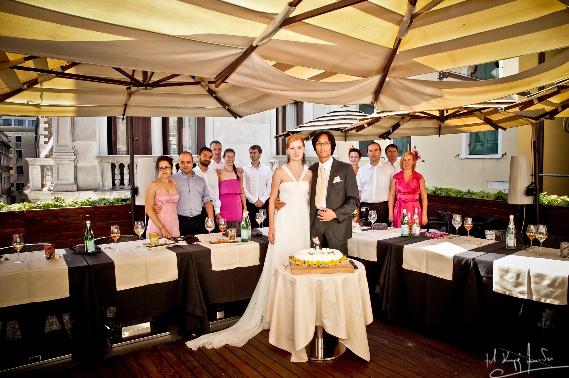 Ślub w wenecji 68 Manuela Luiza & Young Seon Song