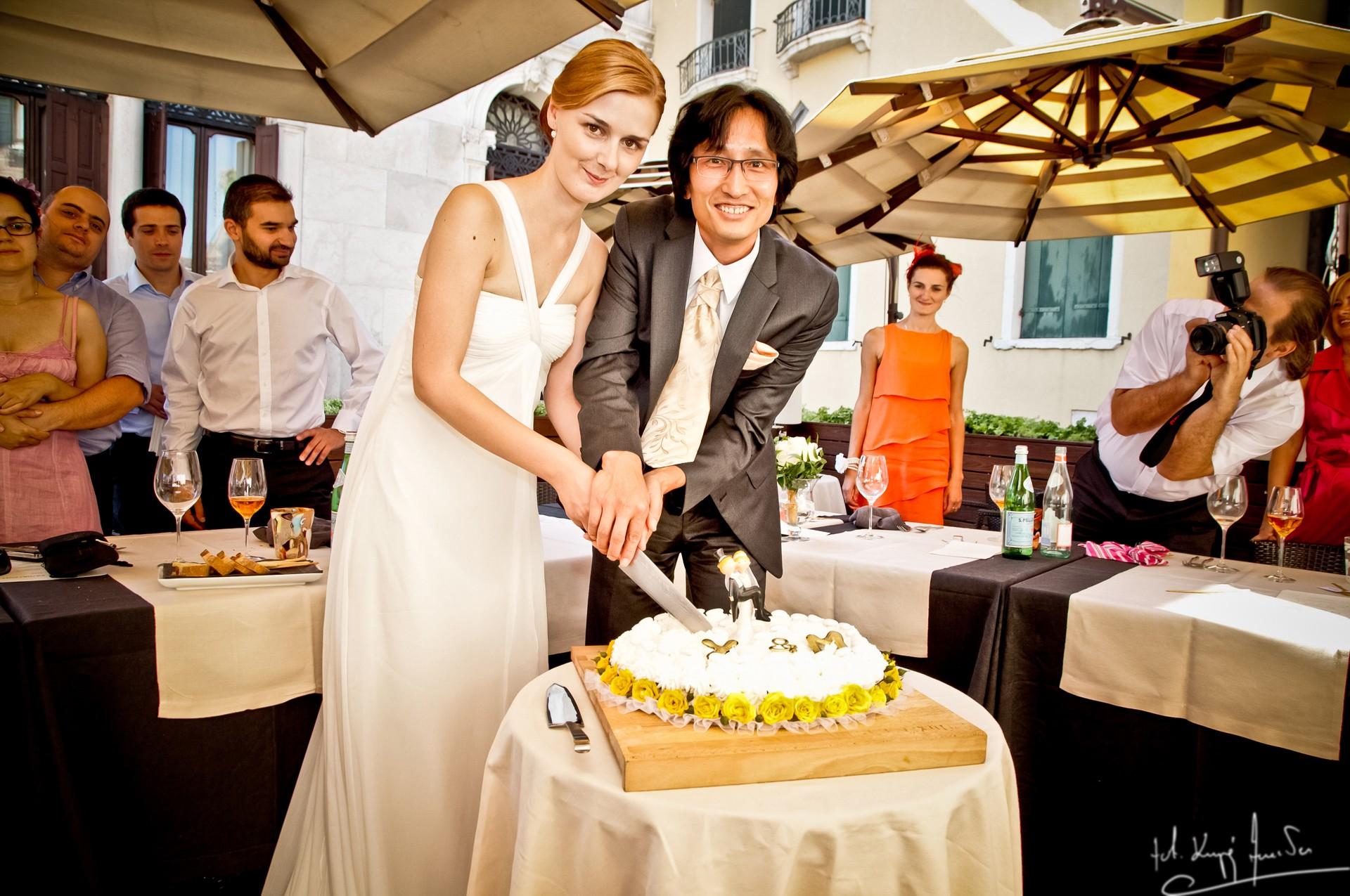 Ślub w wenecji 69 Manuela Luiza & Young Seon Song