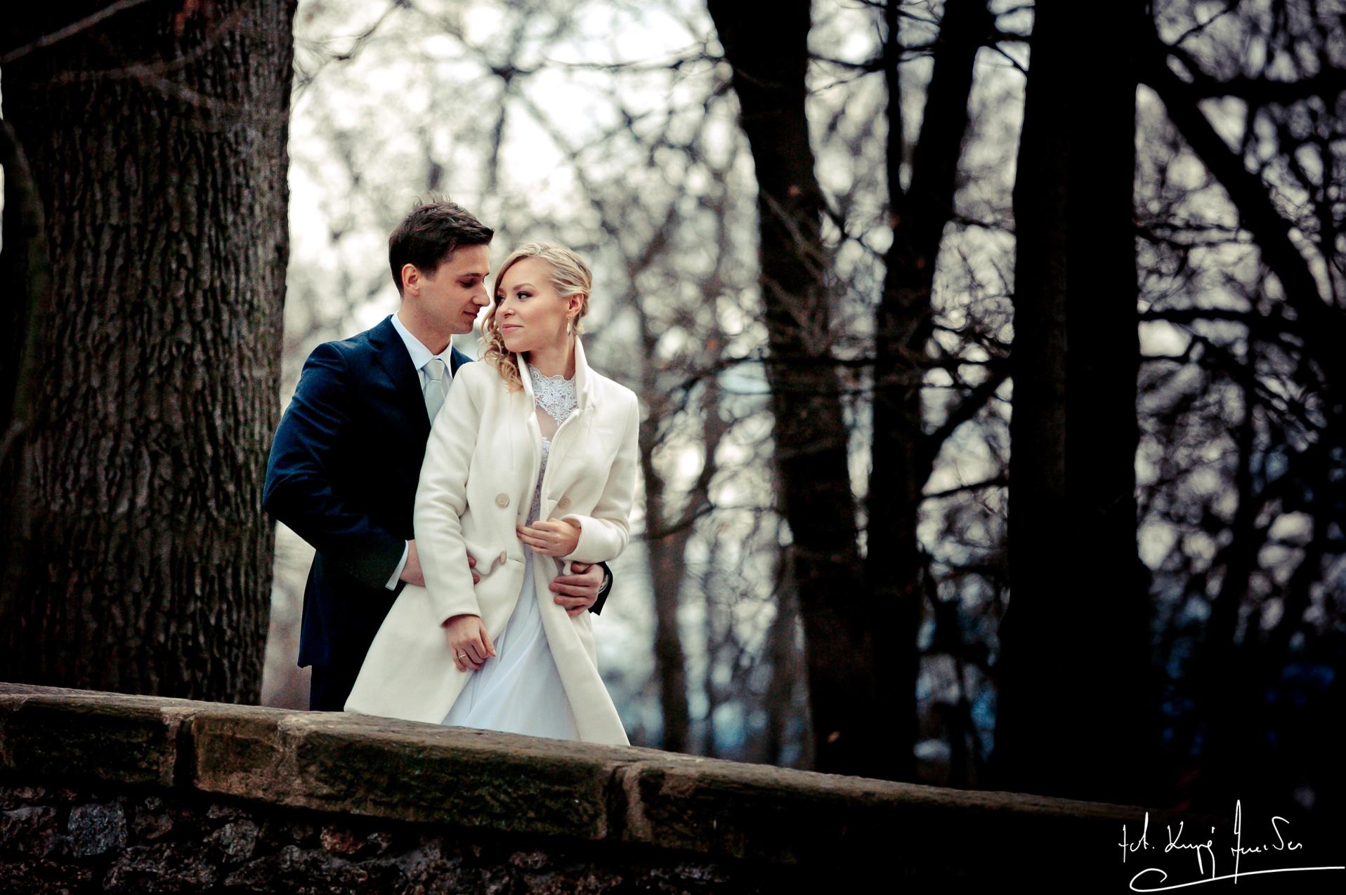 Ślub w jeleniej górze 1 Lutowy Plener z Eweliną i Mikołajem