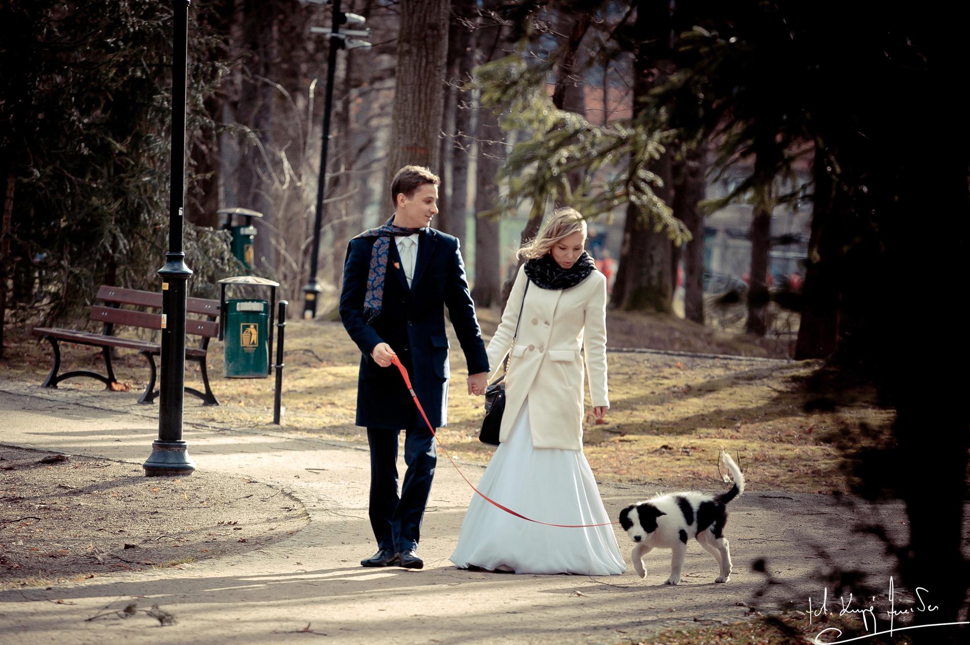 Ślub w jeleniej górze 4 Lutowy Plener z Eweliną i Mikołajem