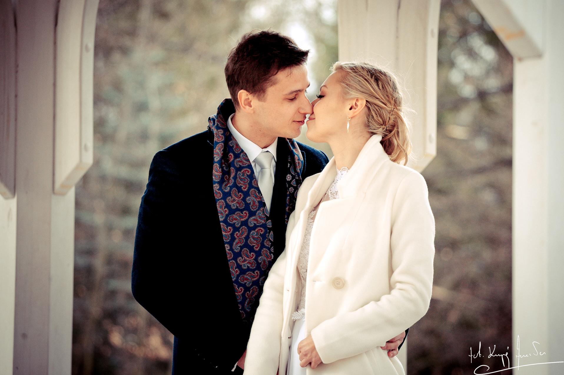 Ślub w jeleniej górze Lutowy Plener z Eweliną i Mikołajem